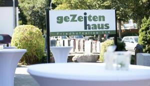 Gezeitenhaus Schild